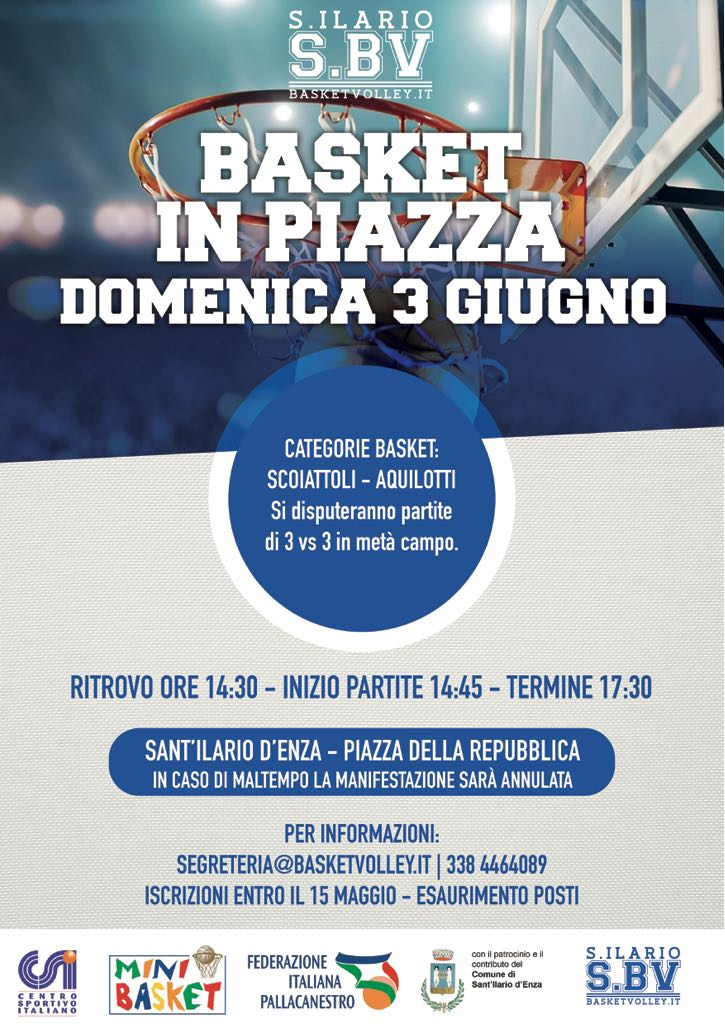 Basket in Piazza 2018