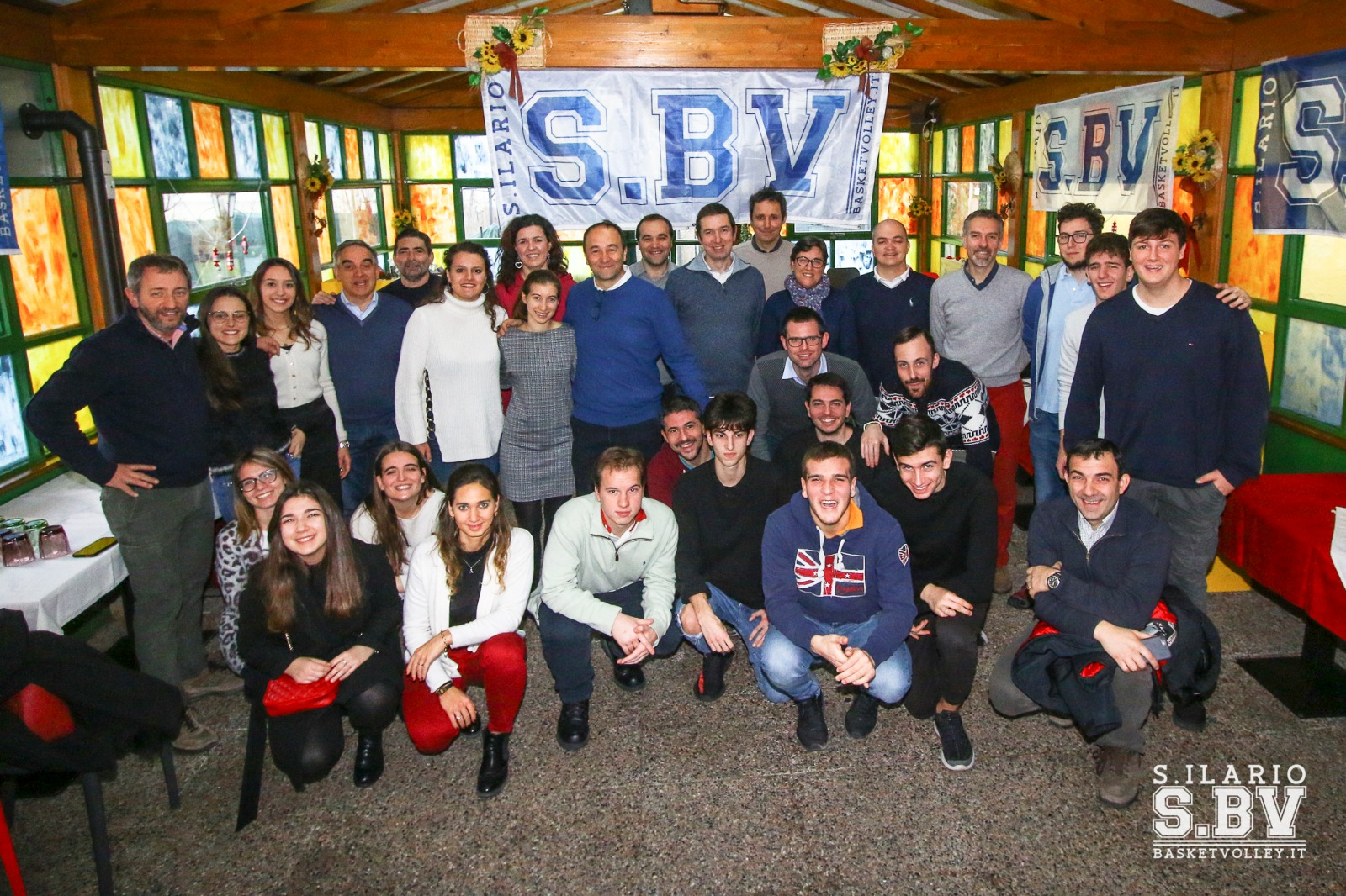 Natale sbv 2018 staff